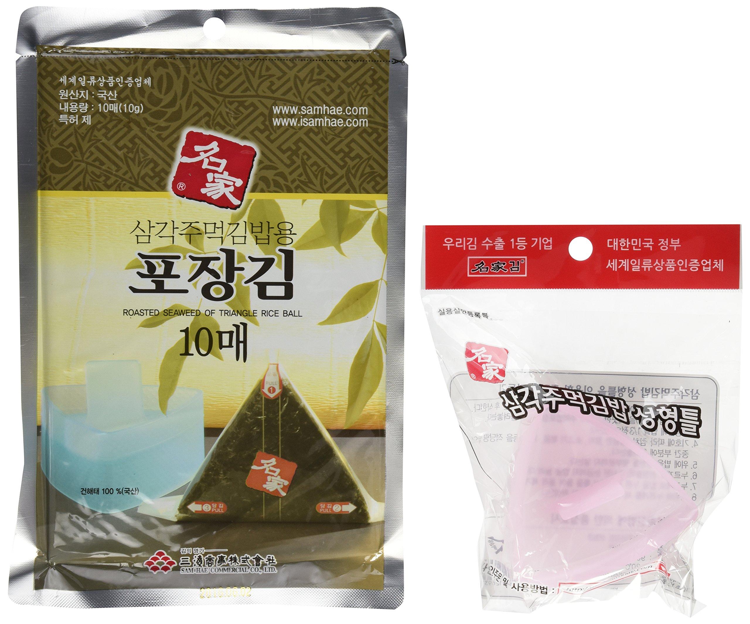 Amazon.com : Kaneyama Seaweed Wrappers for Triangular
