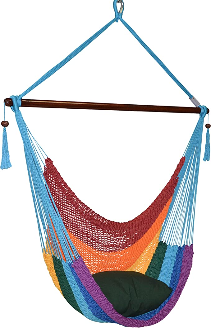 Large Caribbean Hammock Chair – Most Colorful Hammock Chair