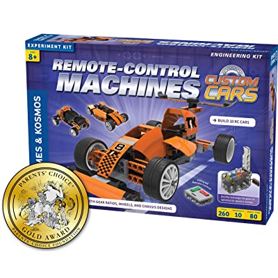Thames & Kosmos Remote-Control Machines: Custom Cars with Configurable Gear Box: Toys & Games