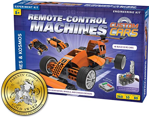 Thames & Kosmos Remote-Control Machines: Custom Cars with Configurable Gear Box