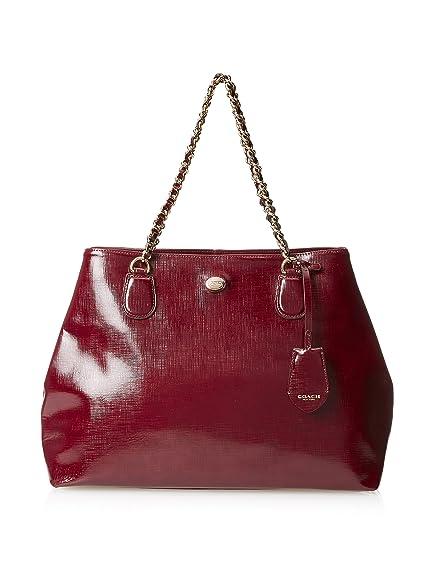 7e327ed7b6 coupon for coach satchel maroon peyton patent leather 7e7ff 049fc