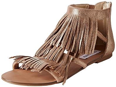 fe058d8a77 Steve Madden Favorit SM, Women Sandals, Gold, 6 UK (39 EU): Amazon ...