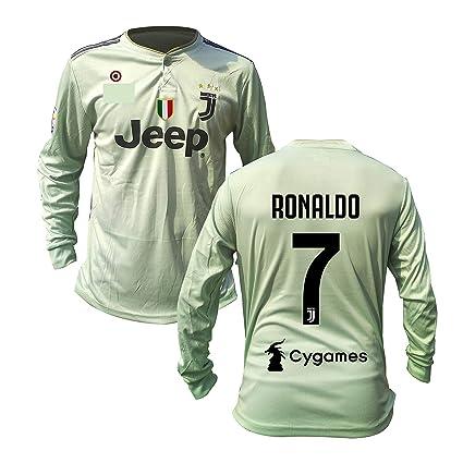 beded756d97 Ronaldo  7 Print Juventus Away Jersey Juventus Full Sleeves Master Quality  Away Football