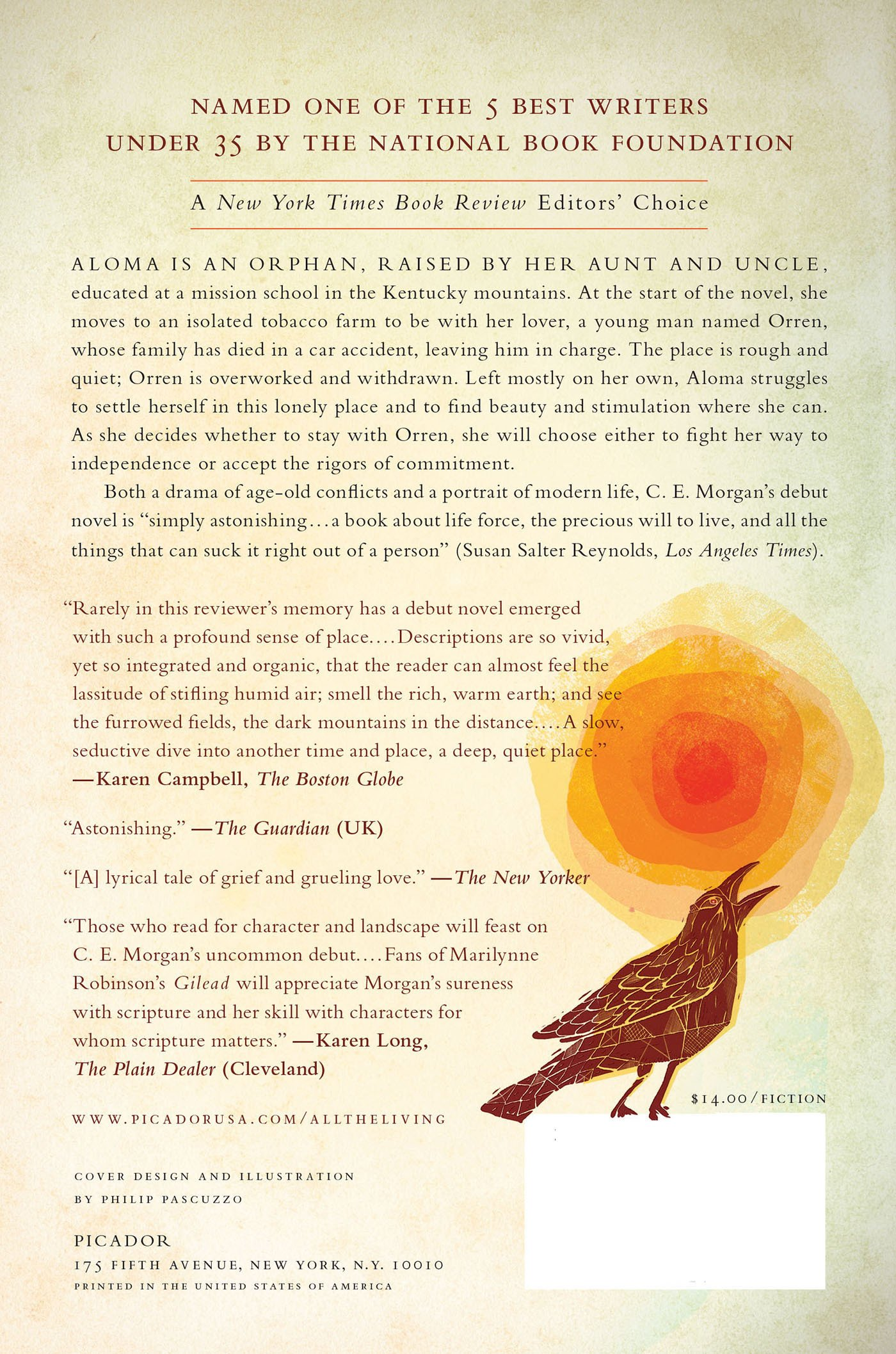 All The Living: A Novel: C E Morgan: 9780312429324: Amazon: Books
