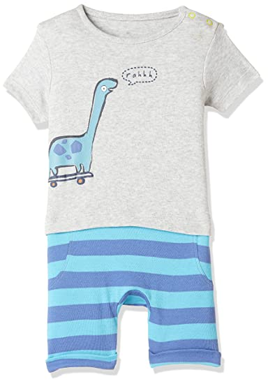 944795e00 Mothercare Baby Boys  Regular Fit Romper Suit  Amazon.in  Clothing ...