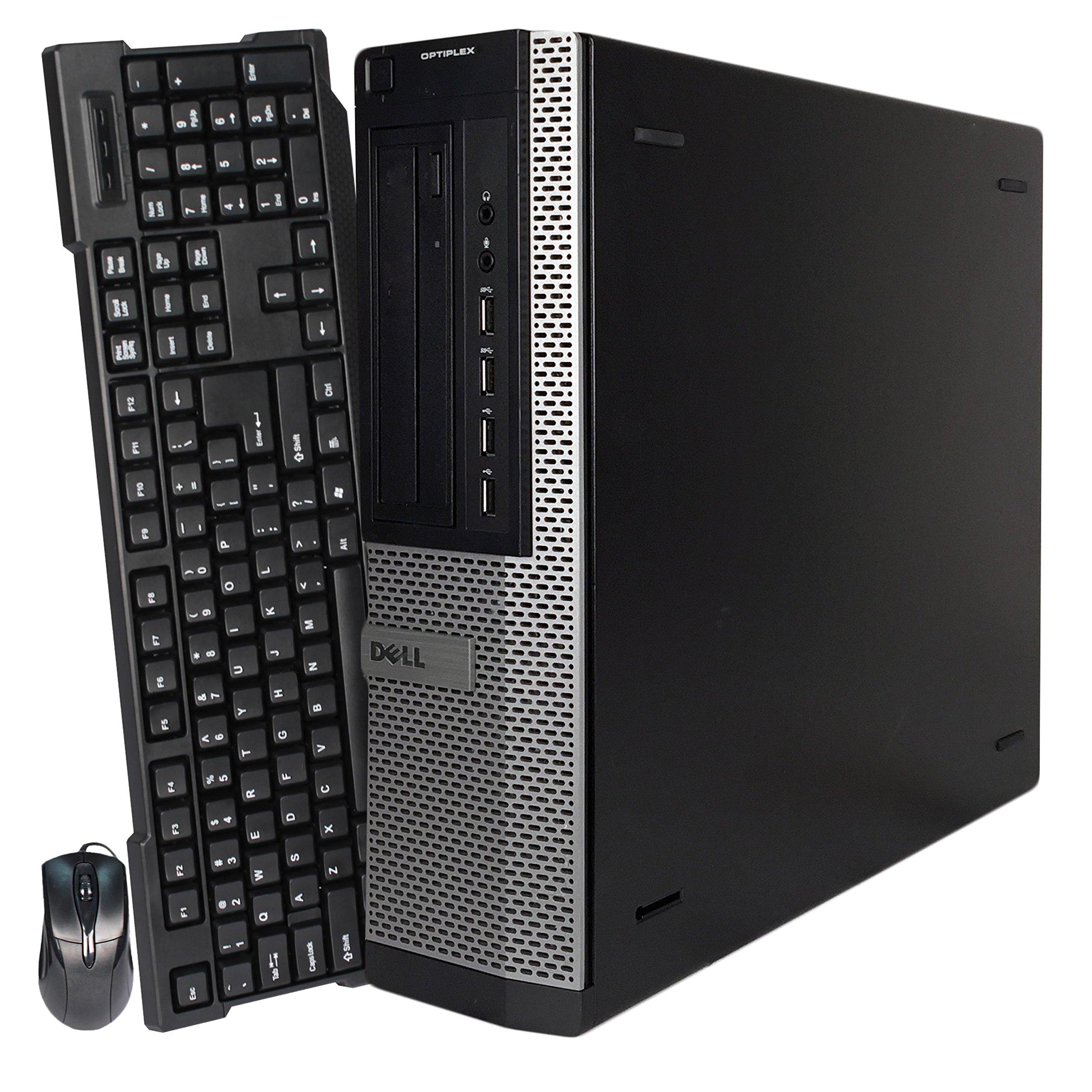 2017 Dell Optiplex 7010 Desktop Computer, Intel Core i5-3470 Quad-Core 3.2GHz (up to 3.8GHz Processor), 8GB DDR3, 500GB HDD, DVD, Windows 10 Professional (Certified Refurbished)