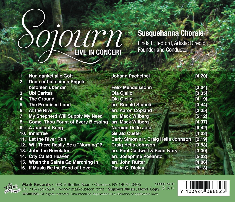 Sojourn: Pachelbel, Mendelssohn: Amazon.es: Música
