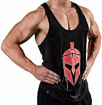 e8efa0a673f Satire Gym Camiseta de Fitness para Hombre - Ropa Deportiva Funcional -  Adecuada para Workout