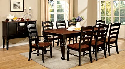 Furniture Of America Arusha 9 Piece Country Style Dining Set