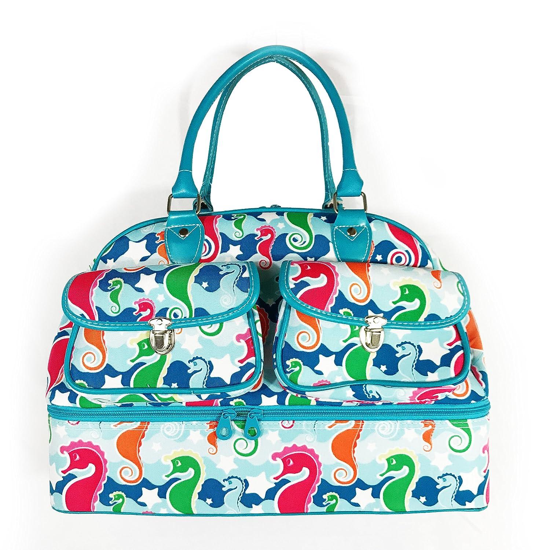 Allgala 17 Fashion Prints Travel Duffel Dinosaur-AE9417DSBK