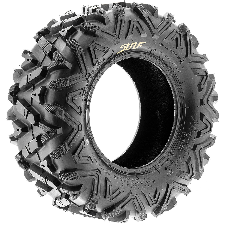 6 Ply Sun.F A033 ATV UTV Tires Set of 2 26x9-12