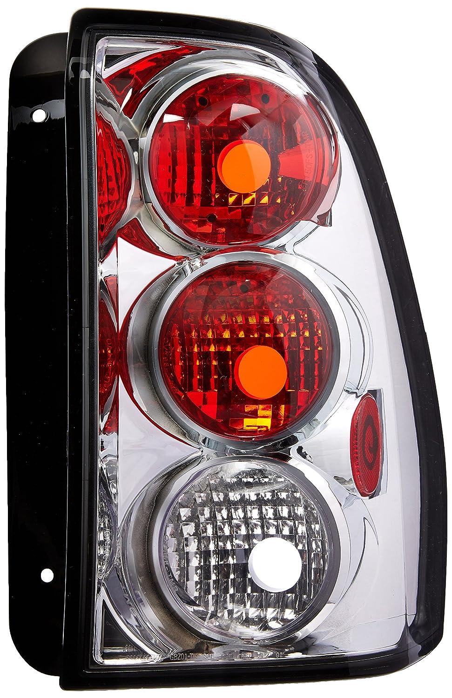 Spec-D Tuning LT-TBLZ02-TM Chevrolet Trailblazer Ext Ls Lt Ltz Ss Chrome Altezza Tail Lights