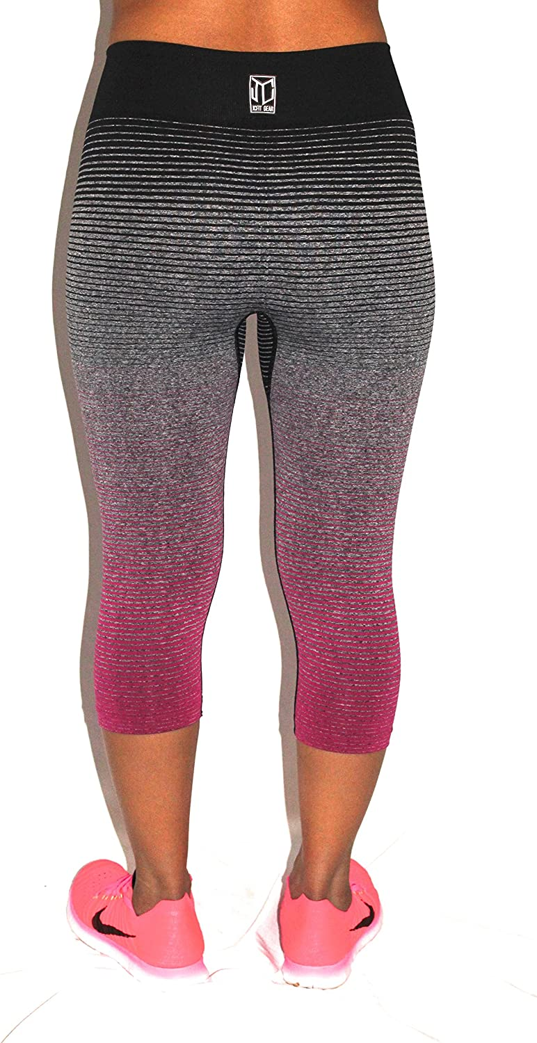 3//4 Length Leggings for Women Great for Working Out Any Kind of Exercise Running Yoga