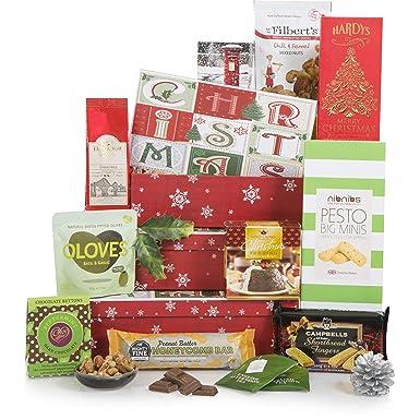 Cesta de Sorpresas Navideñas - Cestas de Navidad y cajas de regalo de Navidad - Cesta
