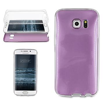 Urcover® Samsung Galaxy S6 Edge | Funda Carcasa 360 Grados Ultra ...