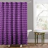 Amazon Com Lush Decor Darla Shower Curtain 72 By 72 Inch
