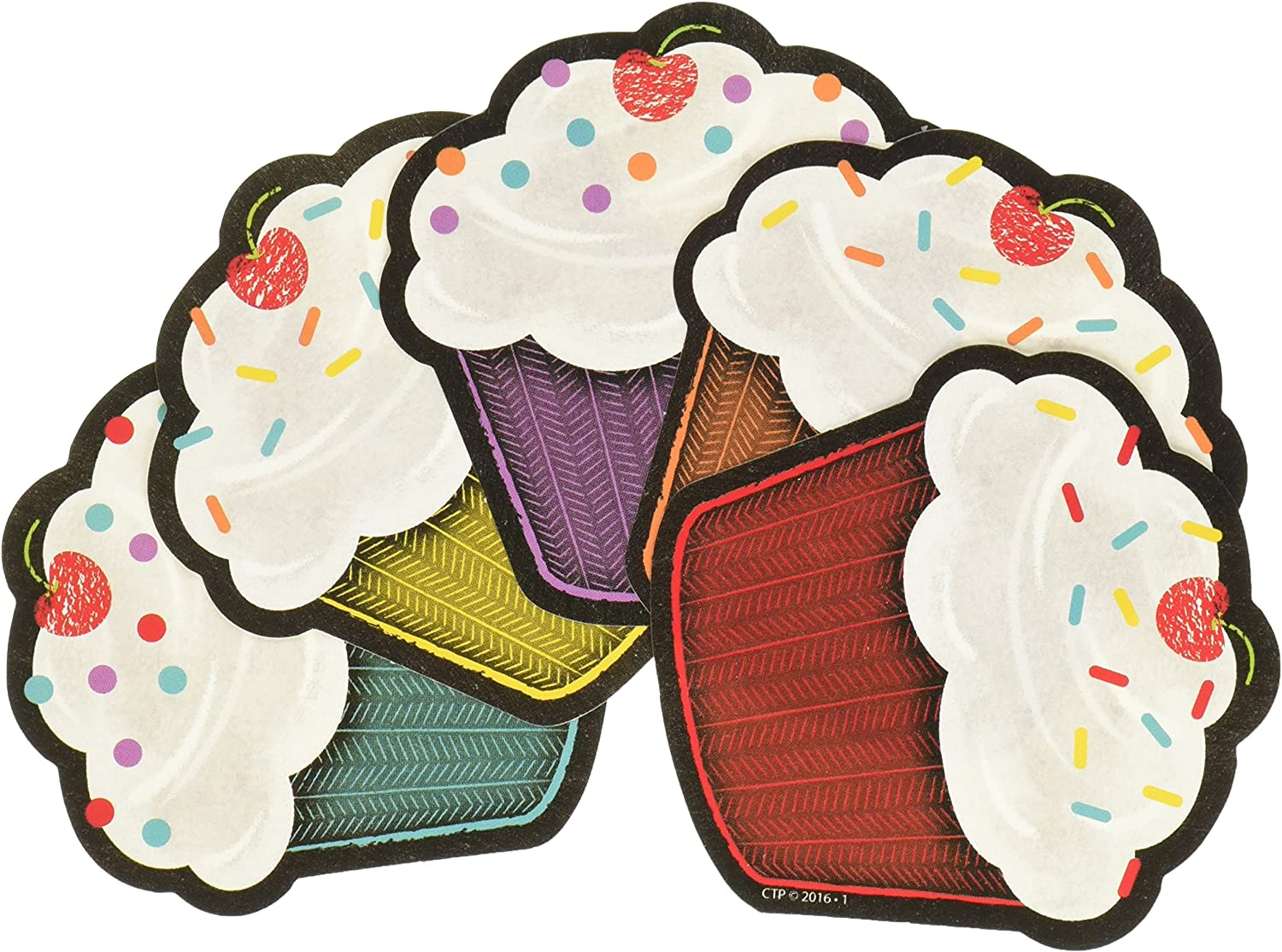 Creative Teaching Press Chalk It Up Happy Birthday Cut Outs, 3 in (8077)
