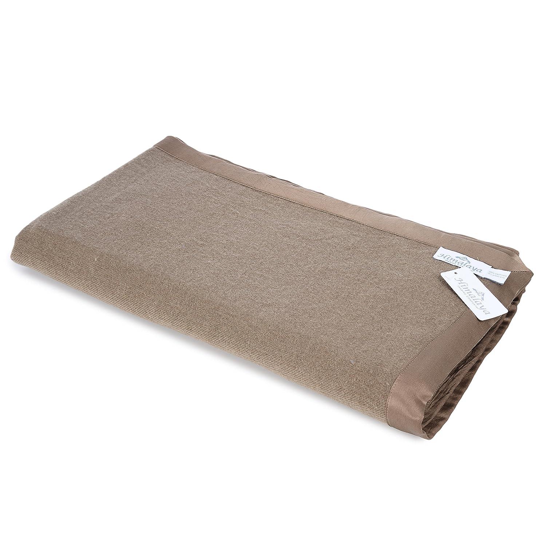 Himalaya Trading Companyの高級100 %カシミアキングサイズベッド毛布モカブラウン B007ECM0C8