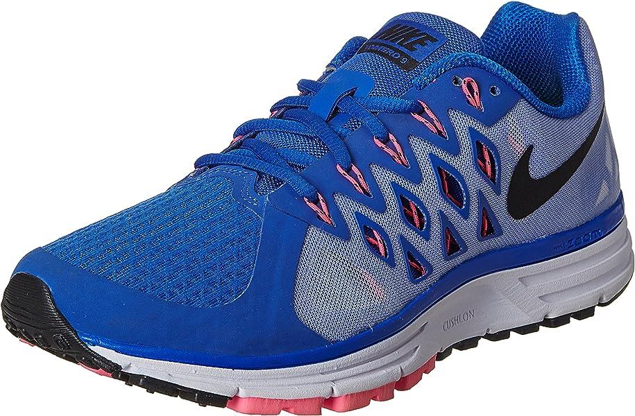 pretty nice bc857 4009b Nike - Nike Zoom Vomero 9, Zapatillas de Running Mujer, Azul (Lyon Bleu