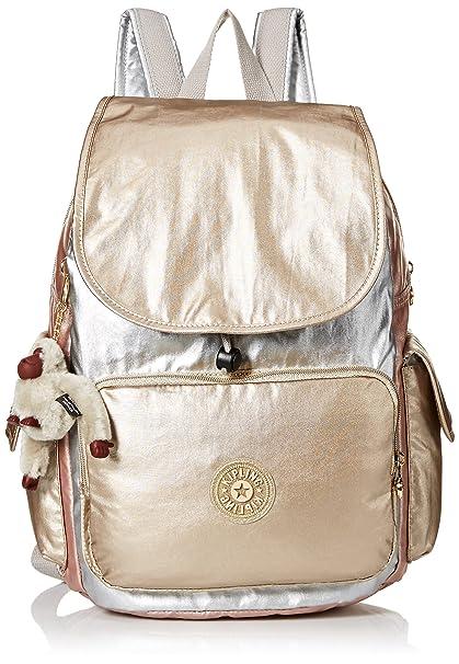 dc48a5dda Kipling City Pack - Mochila, color dorado: Amazon.com.mx: Ropa ...