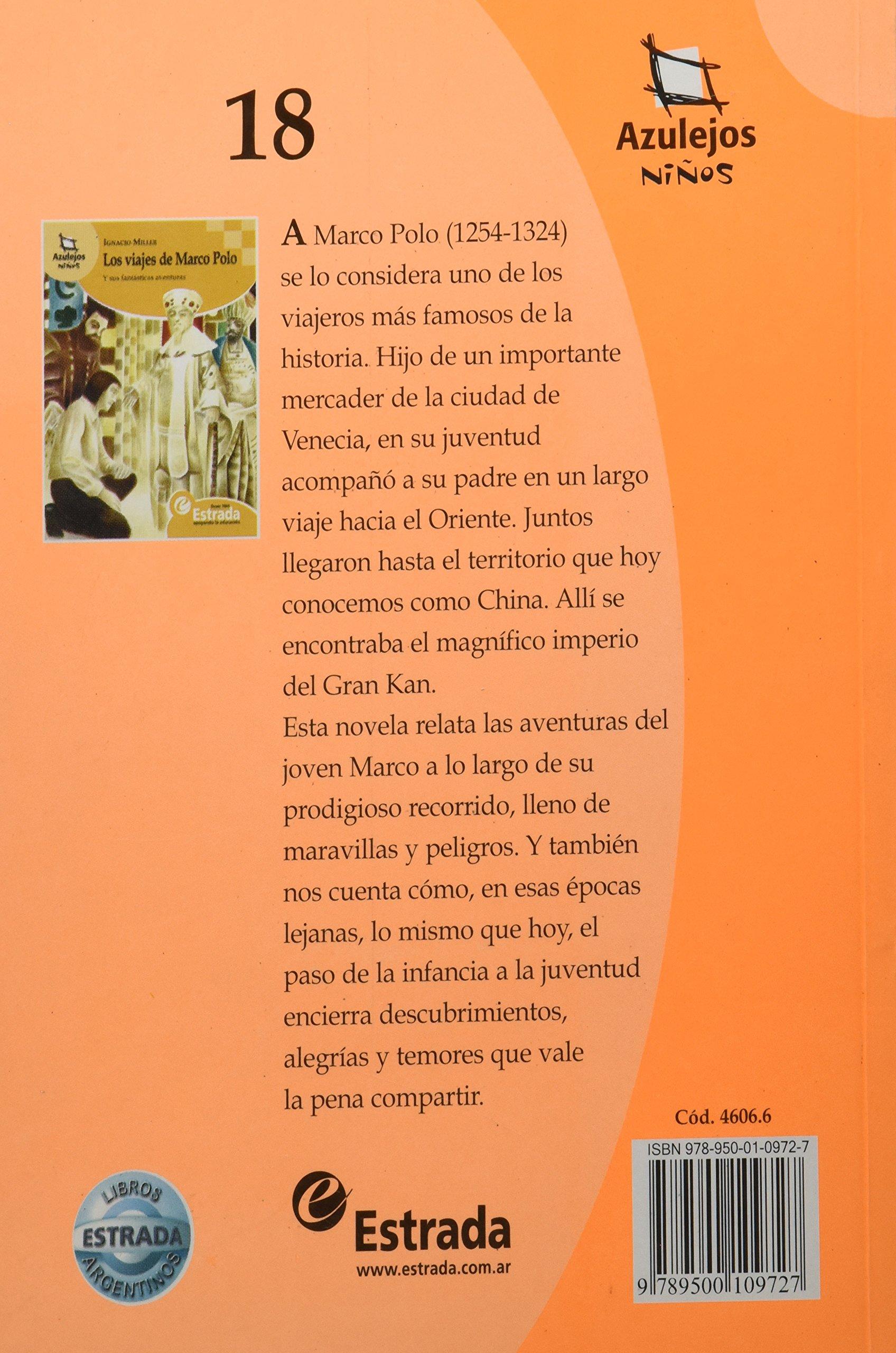 Los Viajes de Marco Polo: Amazon.es: Miller, Ignacio: Libros