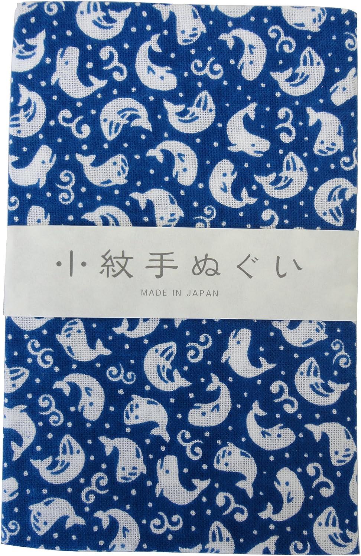 Japanese Traditional Towel Tenugui Small Pattern 5 type set Animal Pattern-1 by KOMESICHI