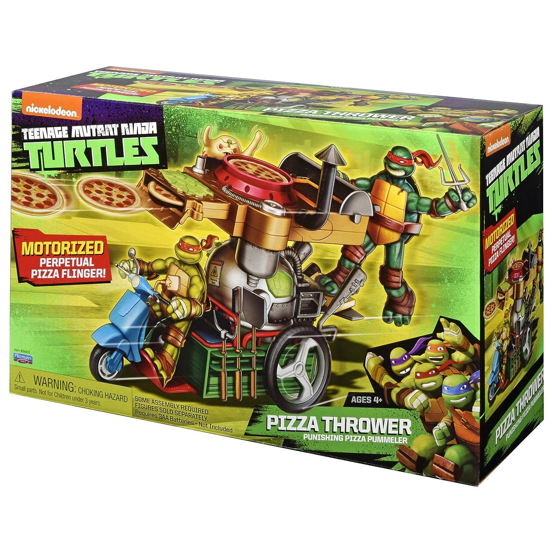 Teenage Mutant Ninja Turtles Pizza Thrower Vehicle: Amazon ...