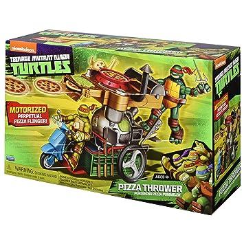 Amazon.com: Vehículo lanzador de pizzas de Teenage ...