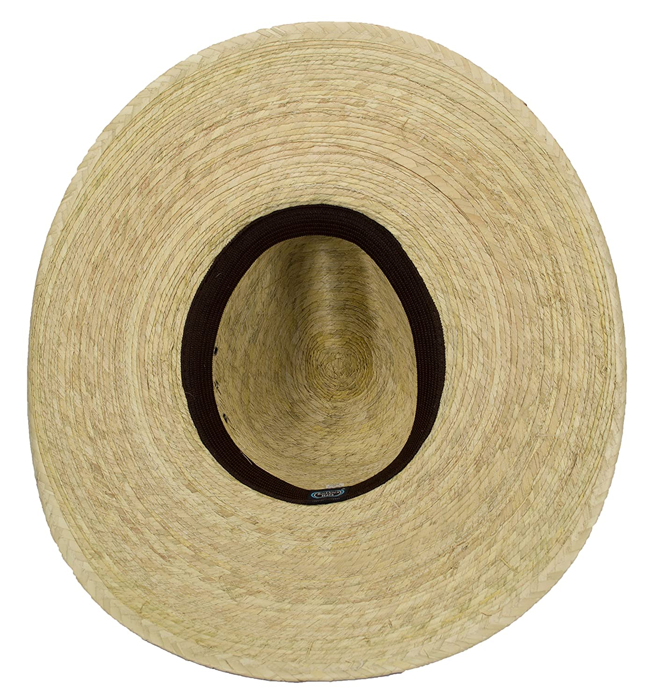 Amazon.com  Large Mexican Palm Leaf Cowboy Hat 3b5416c18a5