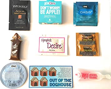 What lubricants can be used with condoms