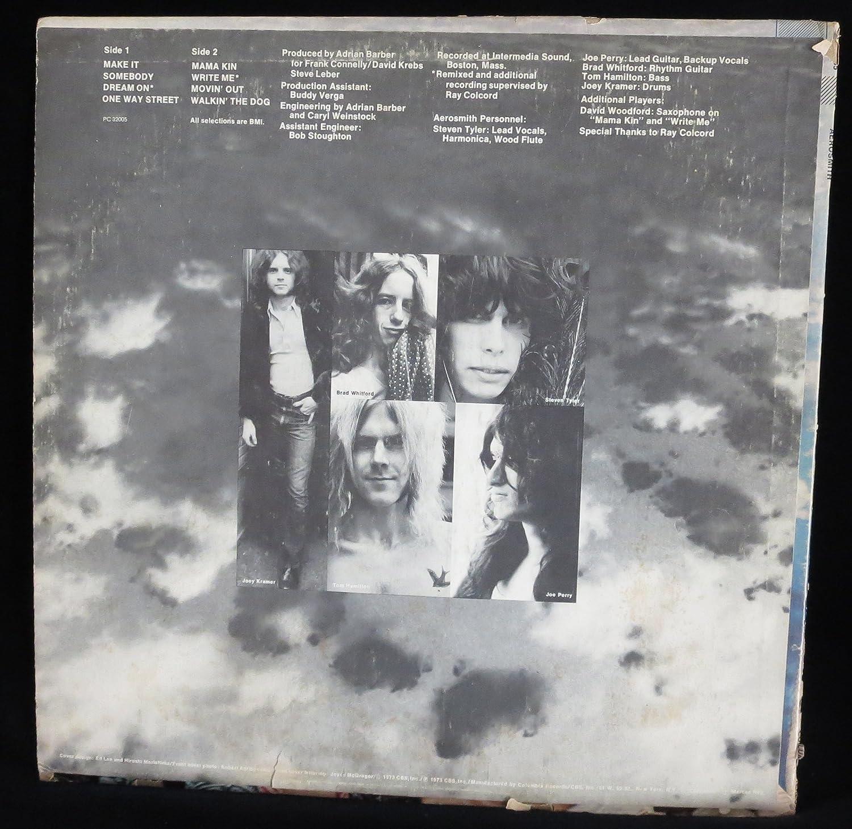 Aerosmith featuring Dream On (USA vinyl LP)