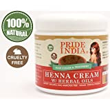 Pride Of India Organic Henna Hair Color Powder, 6Oz 170Gm Jar