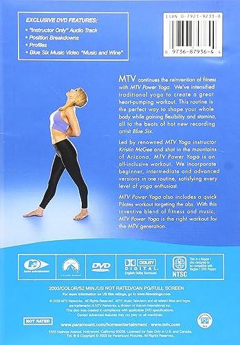 Amazon Com Mtv Power Yoga Kristin Mcgee Movies Tv