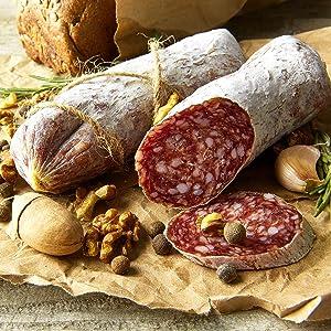 French Style Dry Sausage Saucisson Sec - 10 ounces