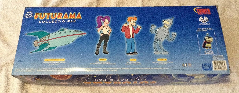 Futurama Collect-o-pak 4 Piece Figure Set Moore Collectibles