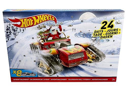 Hot Wheels DXH60 Advent Calendar 2017