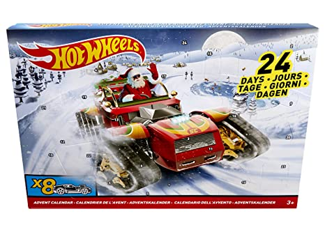 Weihnachtskalender Hot Wheels.Hot Wheels 2017 Advent Calendar Vehicle