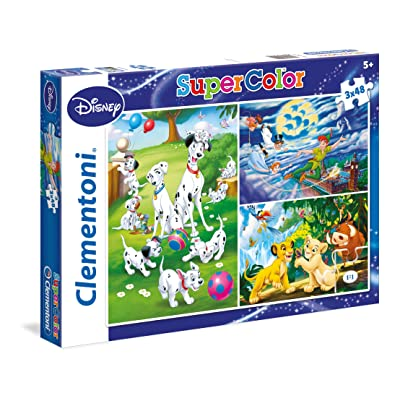 Clementoni - Disney Classic - Set de Puzzles (3x48 Piezas): Juguetes y juegos