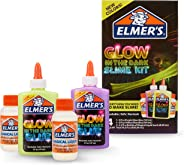 Elmer's Glow In The Dark Slime Kit | Slime Supplies Include Elmer'S Glow In The Dark Glue, Elmer'S Magical Liquid Slime Acti