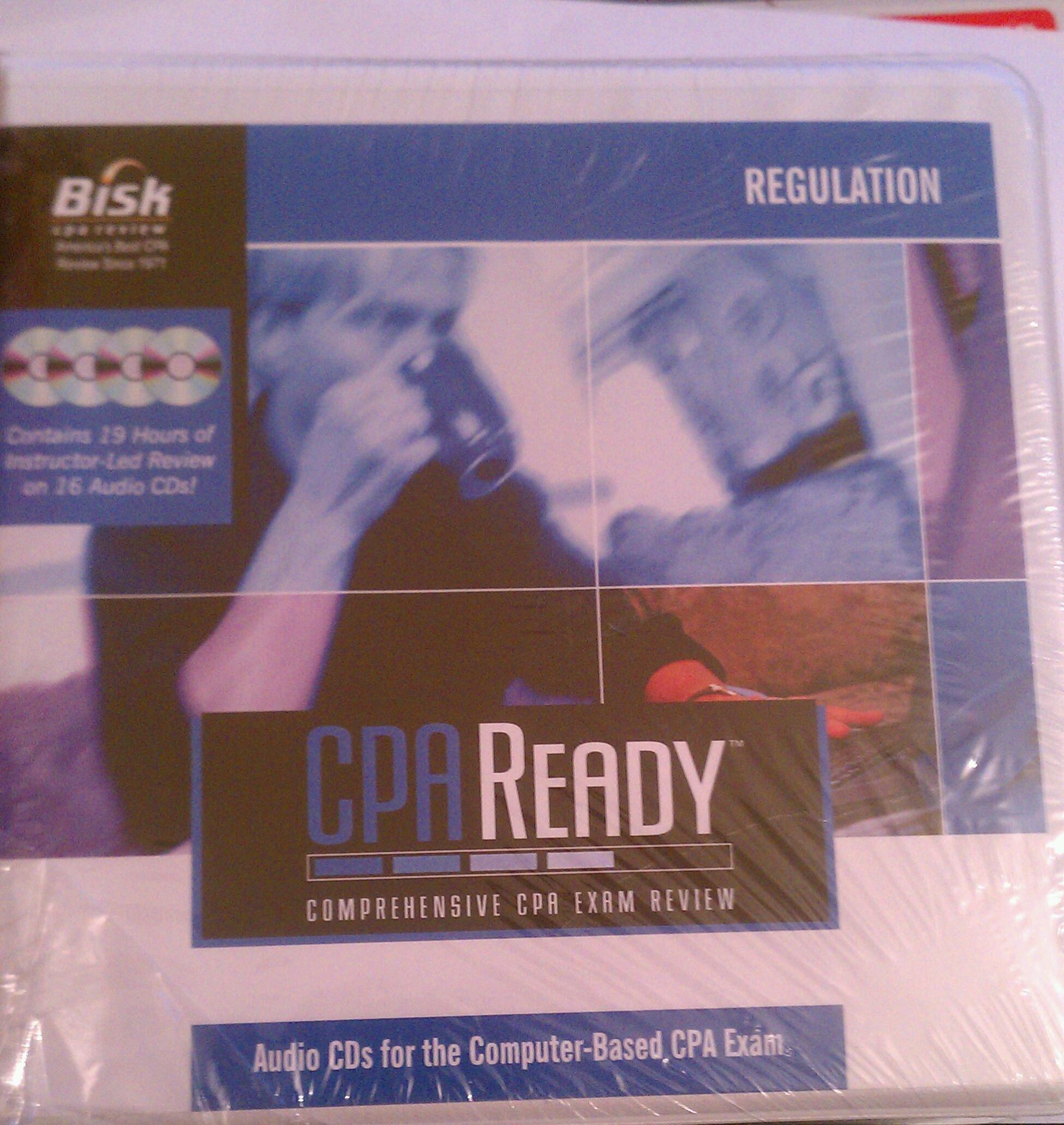 Bisk Cpa Ready Regulation Audio Tutor