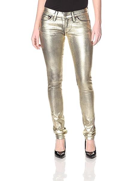 Amazon.com: Rojo Motor de la mujer Cayenne Skinny Jean en ...