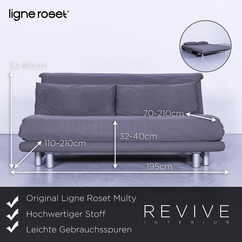 Amazonde Ligne Roset Multy Schlafsofa Stoff Grau Dreisitzer Couch