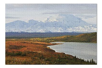 c1b7923ba7c Amazon.com  Denali Mountain and Wonder Lake at Sunrise - Denali ...