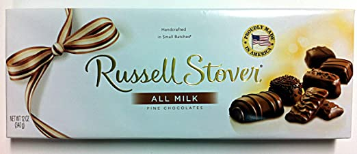 Russell Stover todos Leche Premium Assortment 12oz: Amazon ...