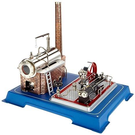 Wilesco D16 - Maqueta de máquina de vapor (capacidad de caldera 250 ml, incluye