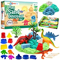 Deals on Little Chubby One Kids Play Sand Dinosaur Set, 3-Lbs Sand
