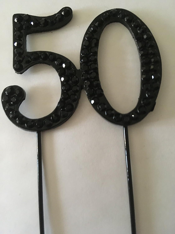 accessories4u2buy Decoración para Tarta de 50 cumpleaños con ...