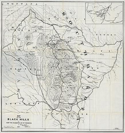 Amazon.com: Guide Book, Black Hills of South Dakota And Wyoming 1897 ...