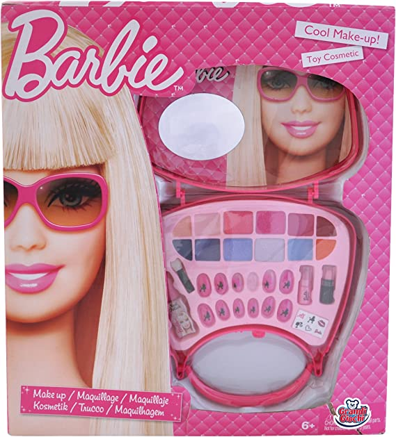 Barbie Grandi Giochi GG00503 - Estuche de Maquillaje, diseño: Amazon.es: Belleza