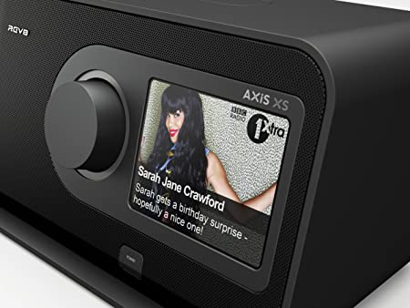 Revo Axis XS Radio Internet Bluetooth avec Station d'accueil pour iPodiPhone FMRDSDab+ Noir